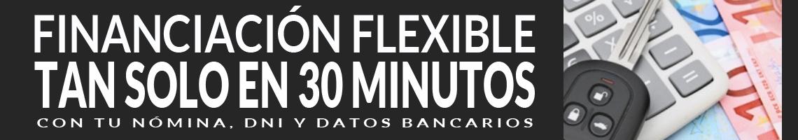 Financiación flexible al comprar tu coche. En tan solo 30 minutos